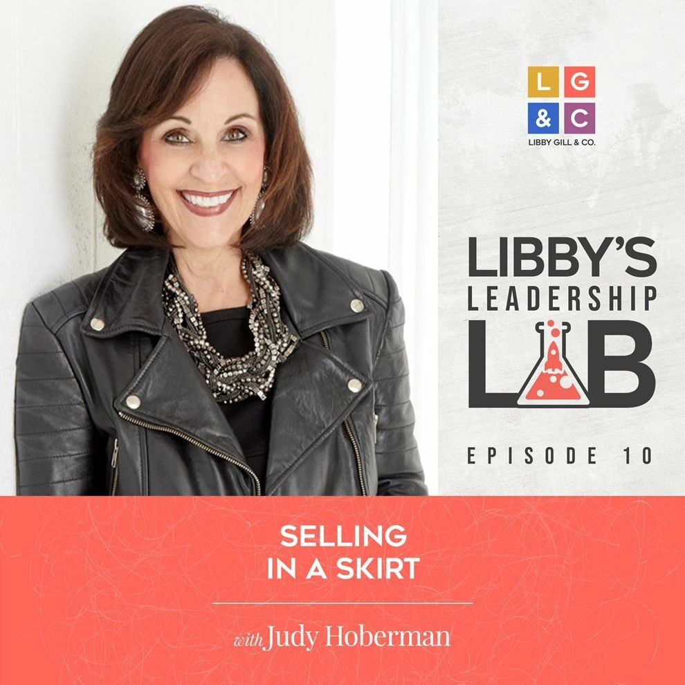 10 Judy Hoberman - Libby Gill Guest Podcast Cover