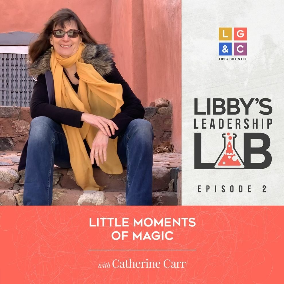 2 Catherine Carr - Libby Gill Guest Podcast Cover