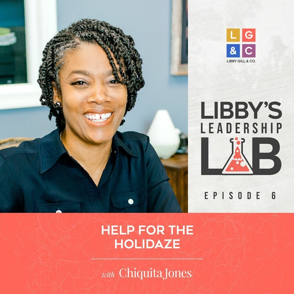 6 Chiquita Jones - Libby Gill Guest Podcast Cover